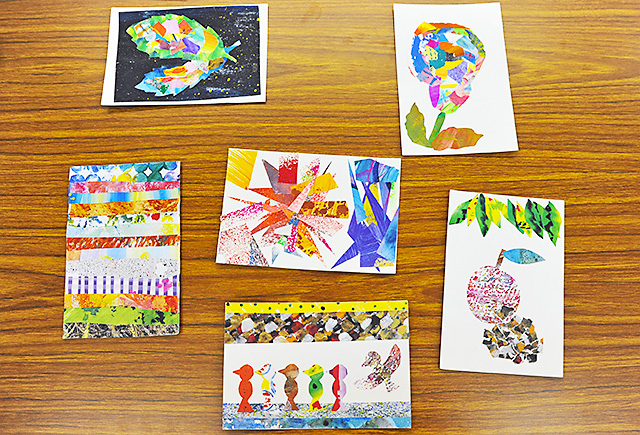 ERICCO BOOK PROJECTの手作りポストカード