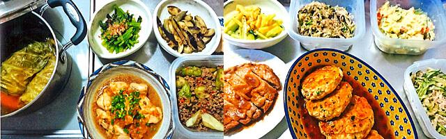 森川さんの手料理の数々